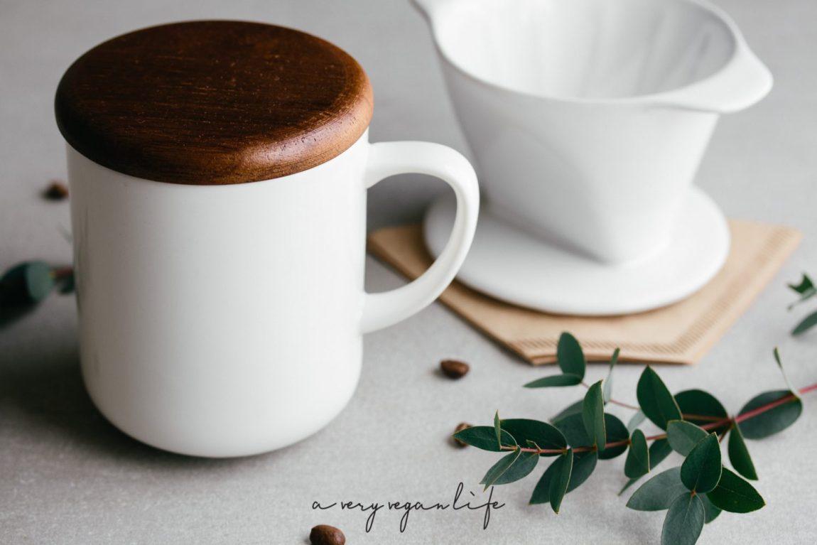 Handfilter, Porzellanfilter, Filterkaffee, Kaffeetasse