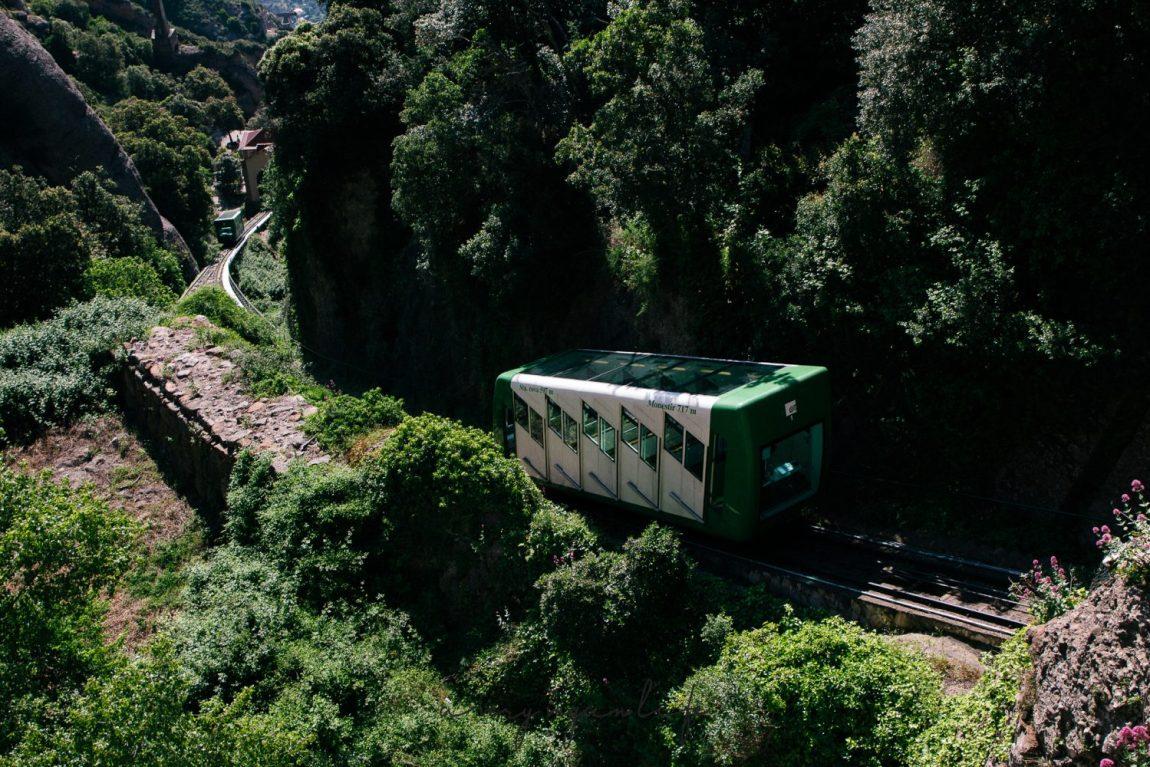 Zahnradbahn, Katalonien
