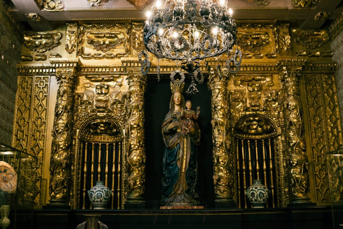 Der goldene Raum, Palau Maricel