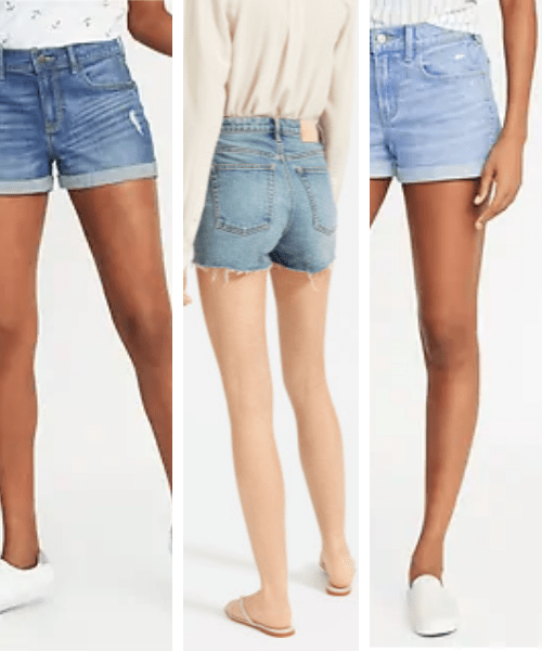 the best denim shorts for summer