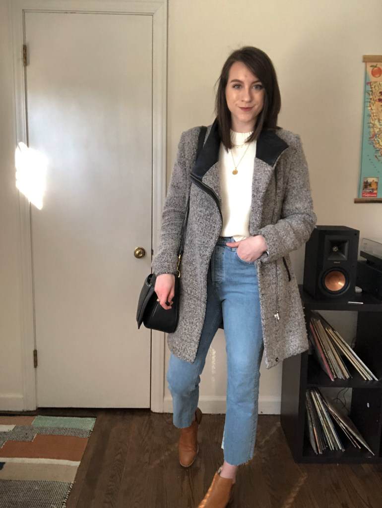 easy neutral outfit - avery walts