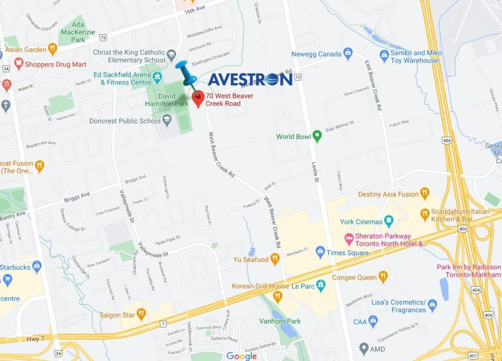 Avestron laser marking systems office location