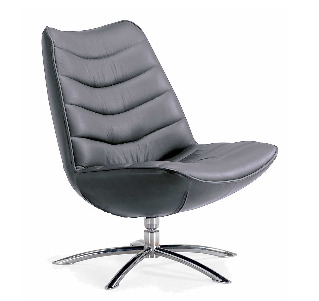 Top Grain Leather Office Chair Fjords Breen Swivel Top Grain Leather Chair Office Chairs