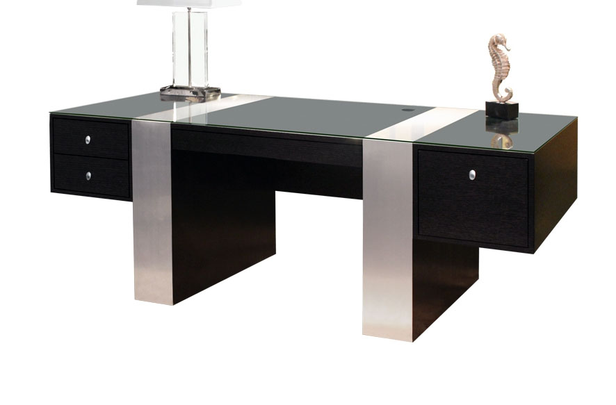 Sh02 Wenge Color Desk  Executive