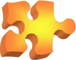 orange-3d-puzzle-piece