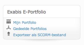 Exabis E-portfolio in Moodle