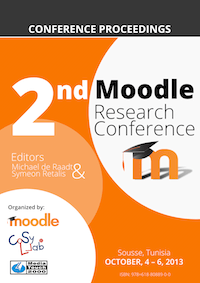 Conference Proceedings Moodle Research 2013