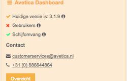 Nieuw! het Avetica Dashboard in uw Moodle site