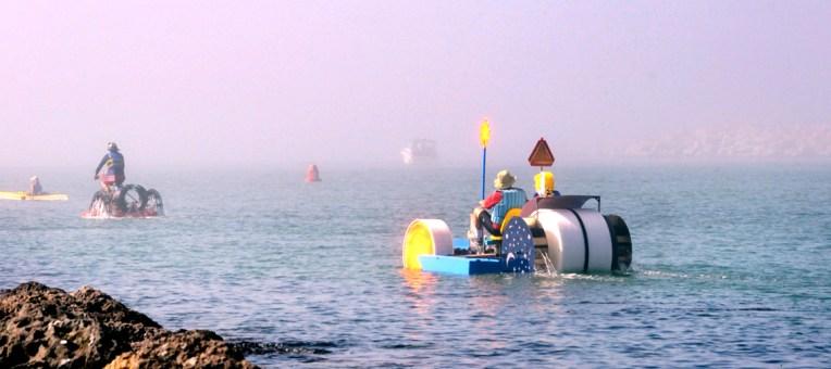 Kinetic Sculpture Race Photo