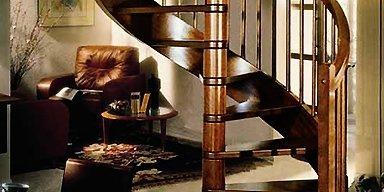 woonden spiral stairs installation services in Australia, Sydney