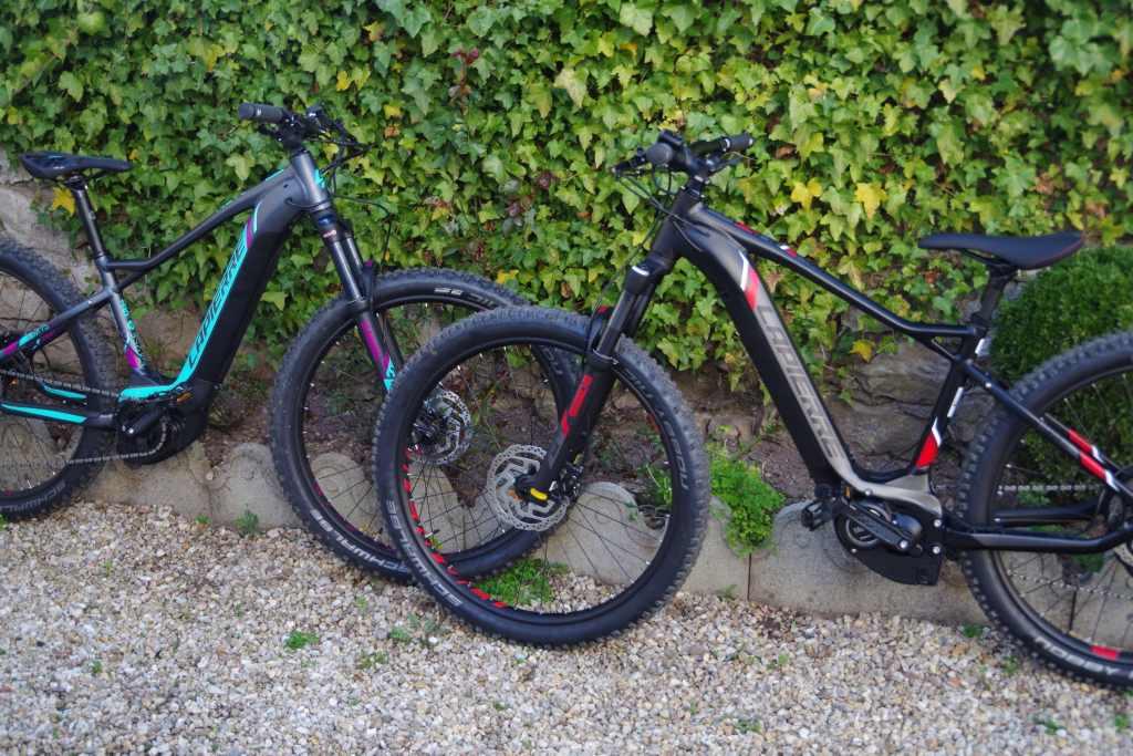 nos vélos à la location : des VTT à assistance électrique de marque Lapierre