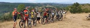 EVG EVJF à vélo avec Aveyron à vélo