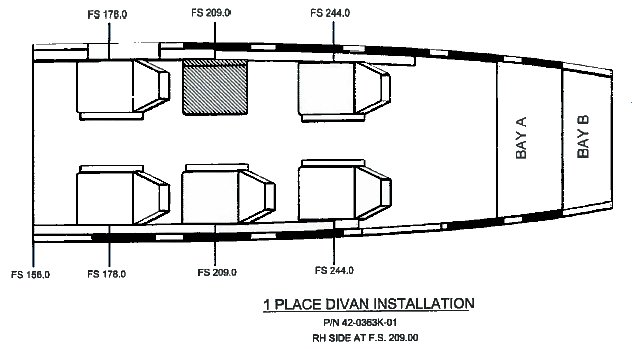 Cessna 1 Place Divan » Aviation Fabricators