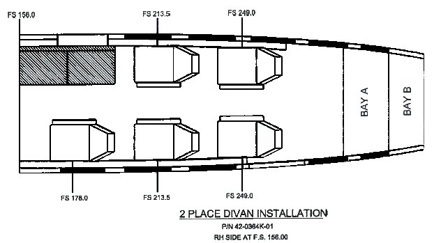 Cessna 2 Place Divan » Aviation Fabricators