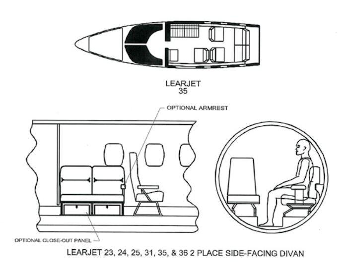 2 Place Divan, LH Aft » Aviation Fabricators