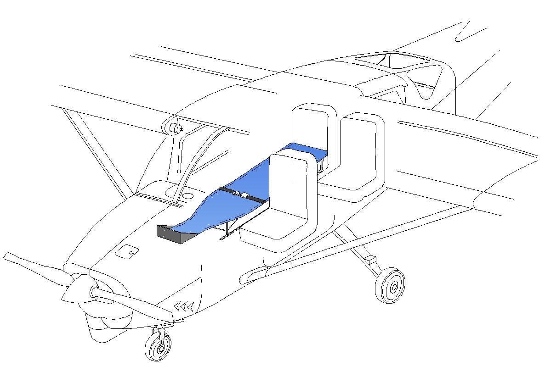 Cessna Stretcher » Aviation Fabricators