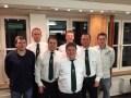 Die verabschiedeten Mitglieder mit Kommandeuren