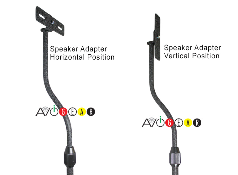 Universal Adjustable Speaker Stands 31-41