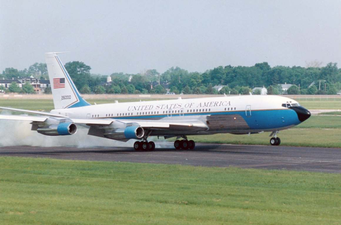 The Special Air Mission (SAM) VC-137 was a specially outfitted Boeing 707. It has been replaced by a 747. SAM 26000 is on display at the NMUSAF (NMUSAF Photo)
