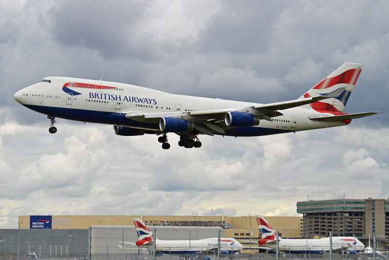 British Airways 747 retired