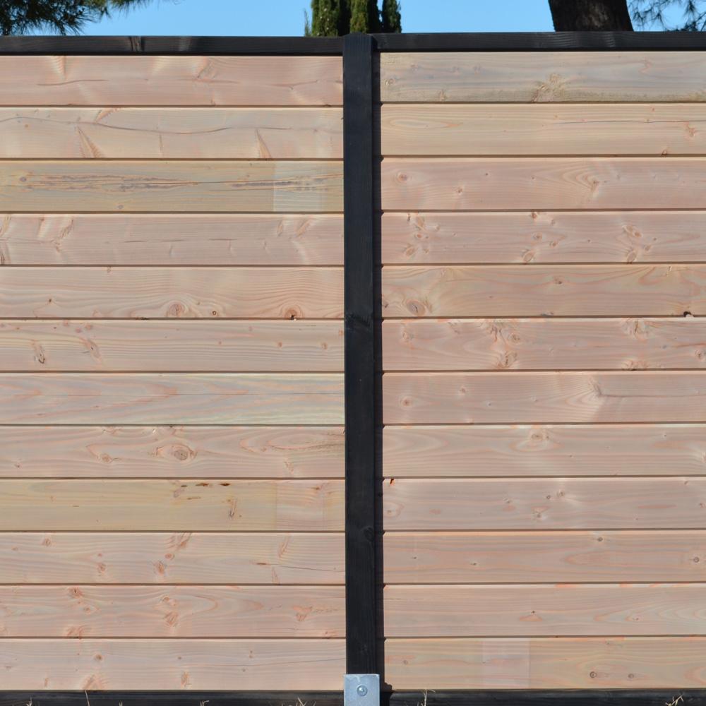 Amnagements extrieurs  terrasse palissade mobilier de