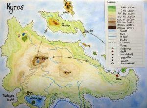 Utopische Landkarte