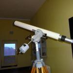 Fernrohr für Astroamateure: Telementor (unser kleines Fernrohr); verlinkt nach Astronomie