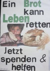 """Plakat zum Thema """"Hungerhilfe"""""""