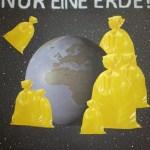 """Plakat zum Thema """"Welt retten"""""""