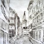 Blick in die Grünstraße