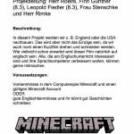 Minecraft in England, Nr. 25 - 25 Plätze