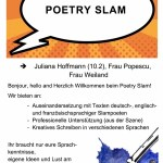 Poetry Slam, Nr. 18 - 16 Plätze