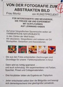Plakat Projekt 4 in 2018