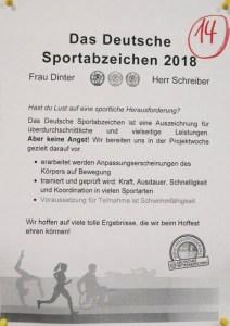 Plakat Projekt 14 in 2018