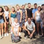 Die Teilnehmer der Rom-Exkursion 2018