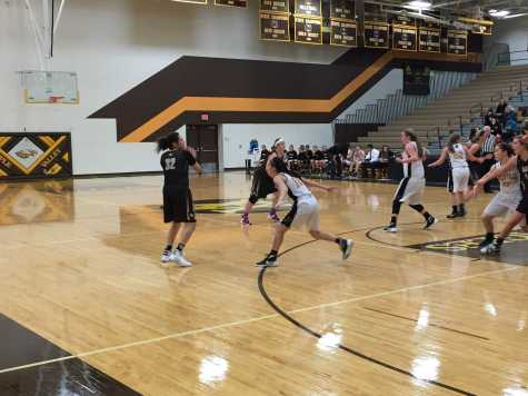 Apple Valley Girls' Basketball On Fire Against Burnsville