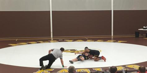 Apple Valley Wrestling Out-Muscles Rosemount