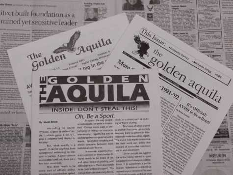 The Golden Aquila: Our First Newspaper