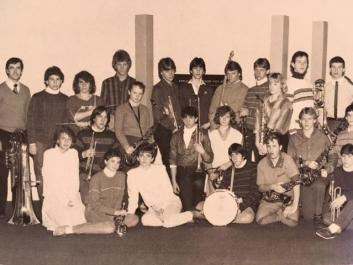 Jazz Ensemble in 1985