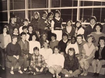 Student Council in 1985