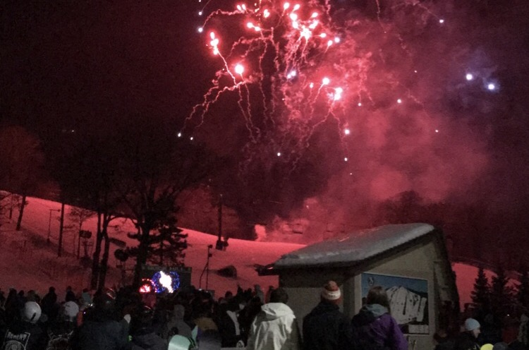 Fireworks kick off 2017 at Buck Hill