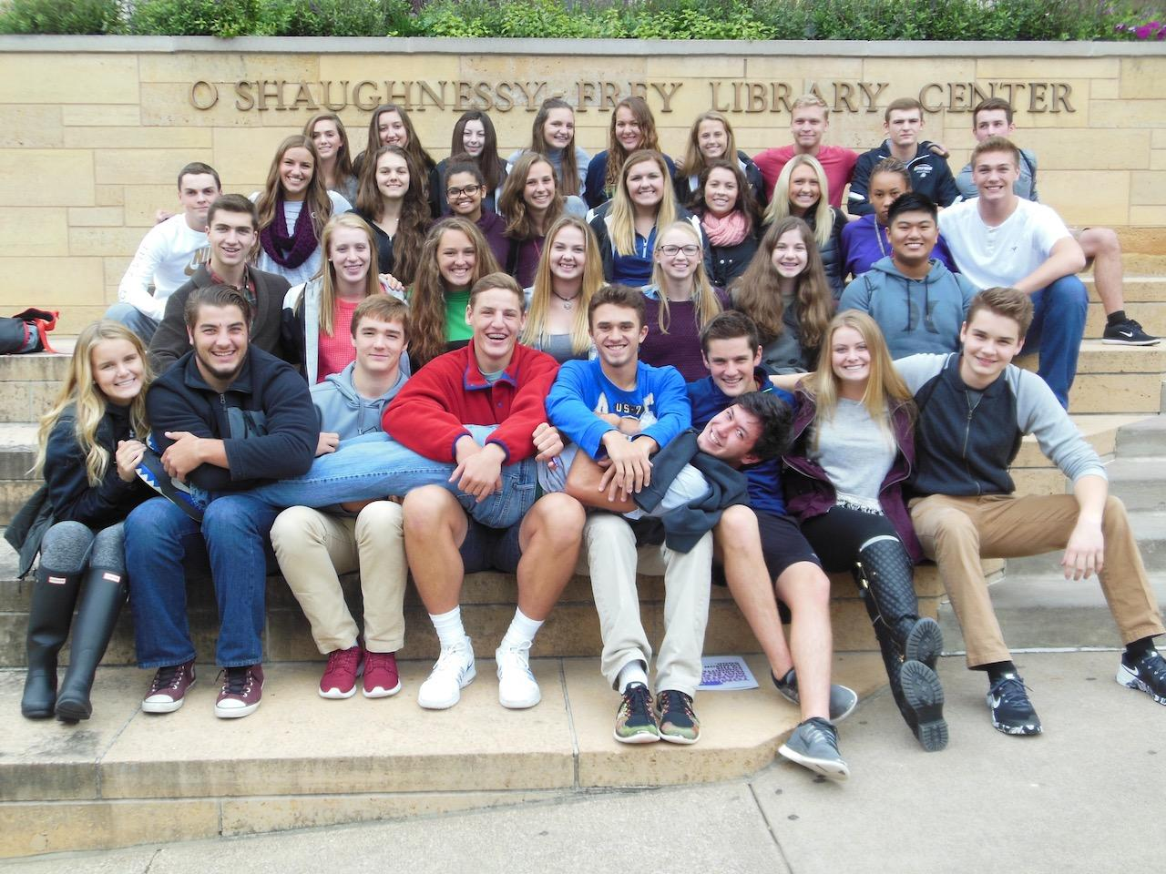 Seminar Class 2017 takes a trip to St. Thomas University