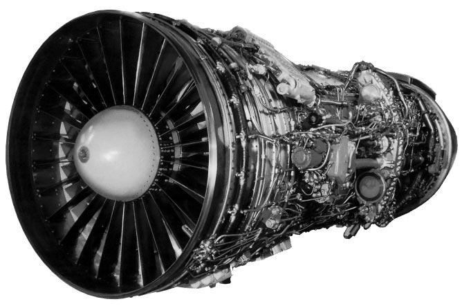 Ту-154 қозғалтқыштың фотосы