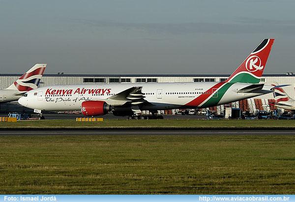 , Kenya Airways (Quênia), Portal Aviação Brasil