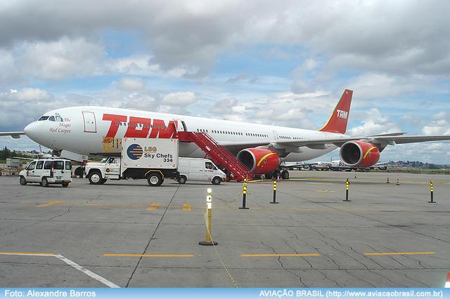 TAM - Airbus A340-500