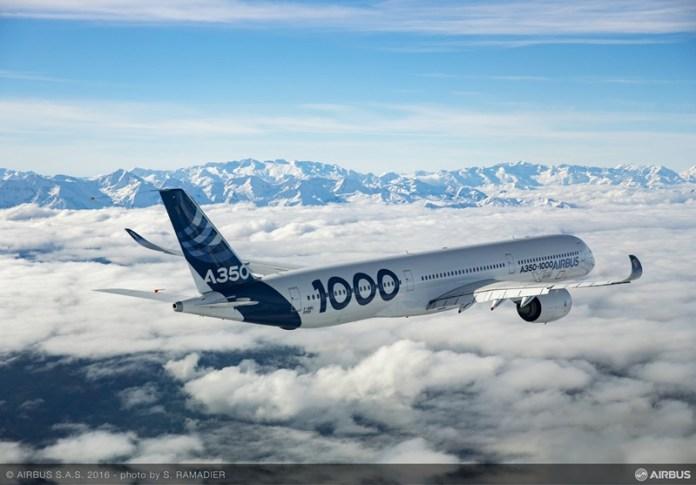 Airbus A350-1000;, Airbus A350-1000, Portal Aviação Brasil