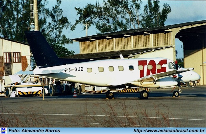Bandeirante, Embraer 110 Bandeirante, Portal Aviação Brasil