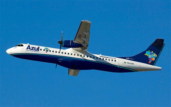 Azul retoma amanhã voos de Vilhena (RO) para Cuiabá