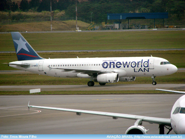, LAN Argentina (Argentina), Portal Aviação Brasil