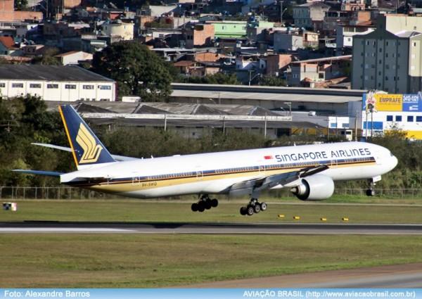 Singapore Airlines tem tarifas promocionais para Barcelona e Cingapura